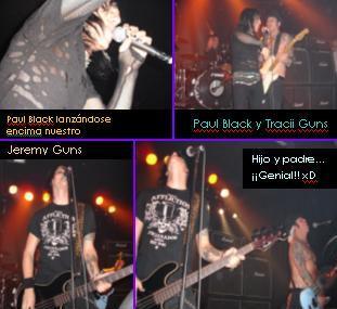 12 / ENERO : L.A. GUNS (Tracii Guns Band)